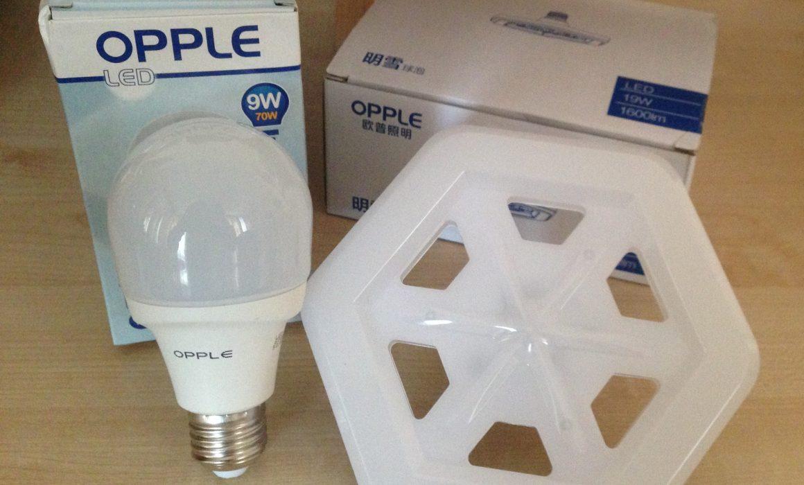 Мощные светодиодные LED лампочки Opple
