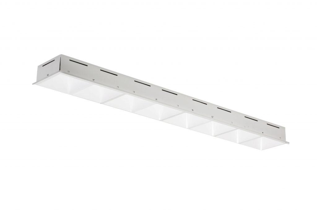 Армстронг светодиодный 168х1200 166х1198 LED Panel Recessed Grille