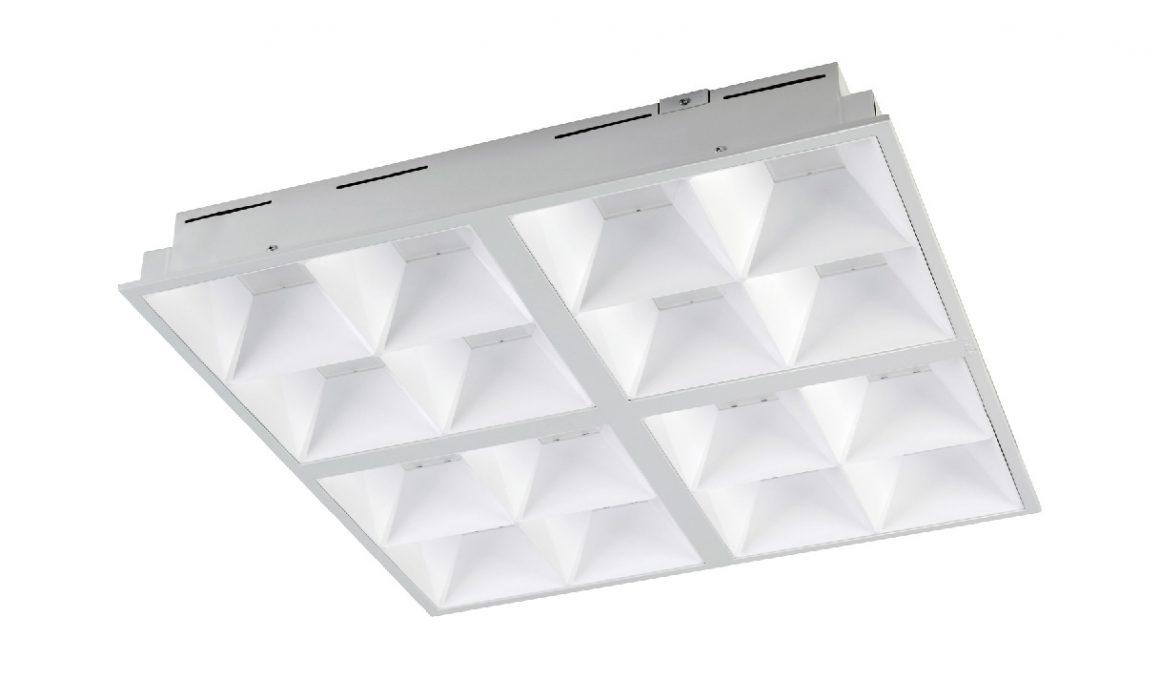 Светодиодный светильник для офиса армстронг 600х600 595х595